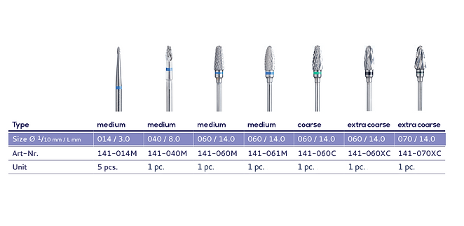 Dentify Tungsten Carbide Bur