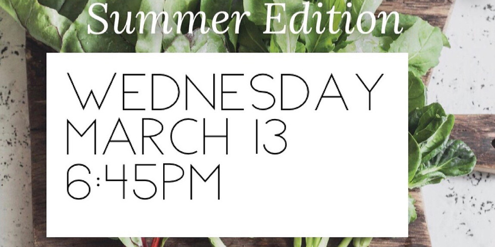 SOLD OUT - The Art of Salad Making 2019 - Wednesday PM