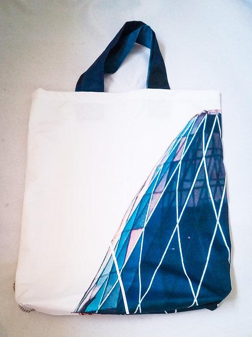 Handmade Fabric Tote Bag, Gherkin