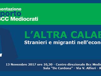 Economia&Immigrazione. Lunedì presentazione studio BCC Mediocrati - Demoskopika