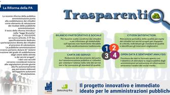 Trasparentia. Al via il progetto per gli enti locali