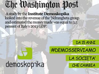 Demoskopika. Partita la campagna social #demosserviamo