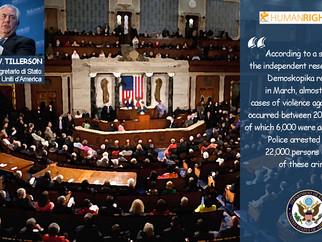 Diritti umani. Demoskopika nel Report del Dipartimento di Stato USA