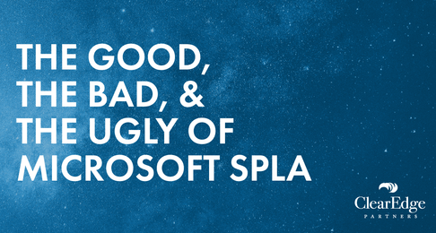 The Good, the Bad, and the Ugly of Microsoft SPLA