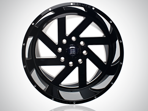 22x12 REAPER GLOSS BLACK (4WHEELS)