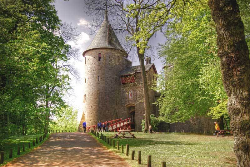 Castle Coch.Near Cardiff South Wales