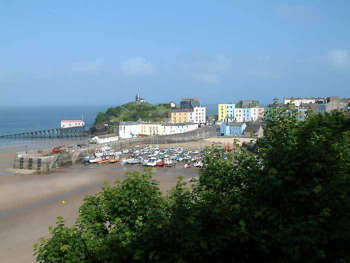 TENBY.Harbour South Wales