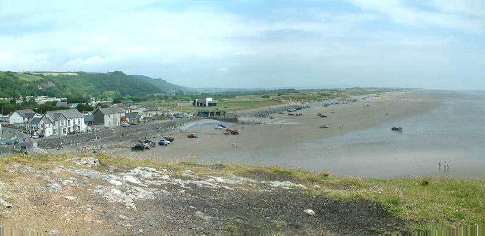Pendine Sands West Wales
