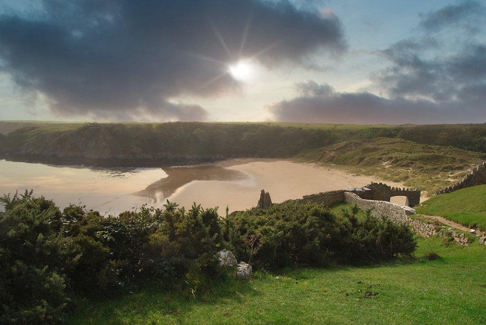 Barafundle Bay Wales UK