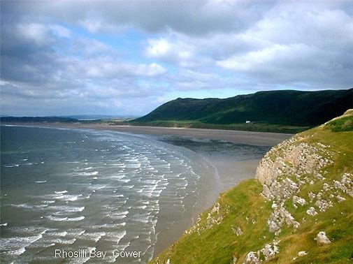 Rhossili Bay West Wales UK