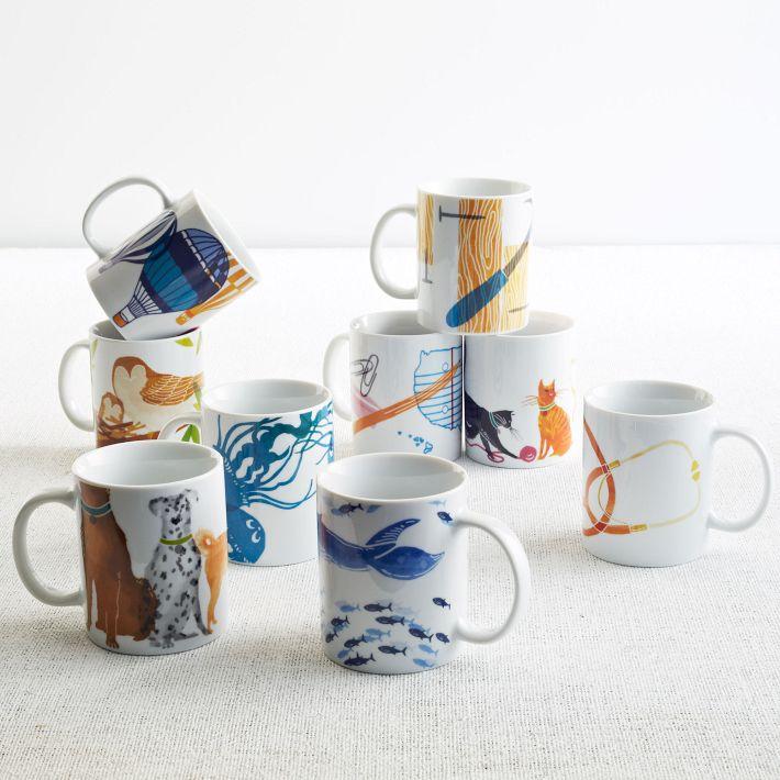 West Elm Charity Mugs