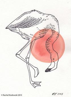 Flaming I Illustration