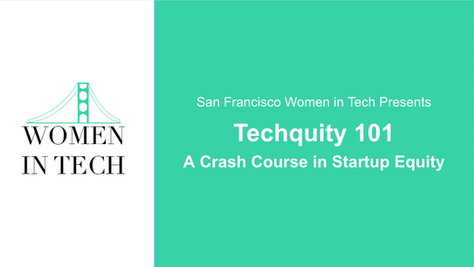 Virtual Event Recap:  Techquity 101