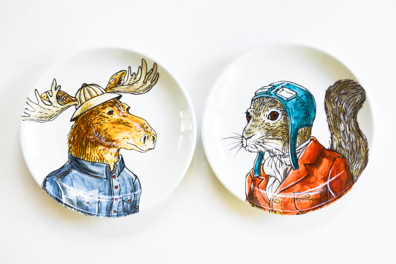 Moose + Squirrel