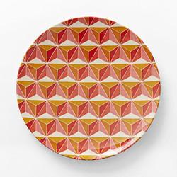 Hex Dinner Plate