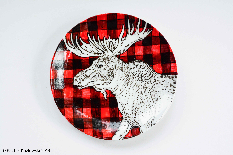Moose & Plaid
