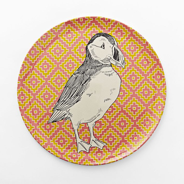 West Elm Puffin Platter