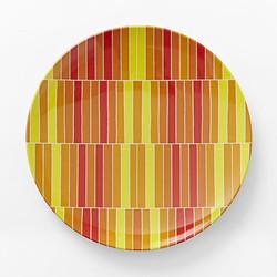 Stripe Dinner Plate