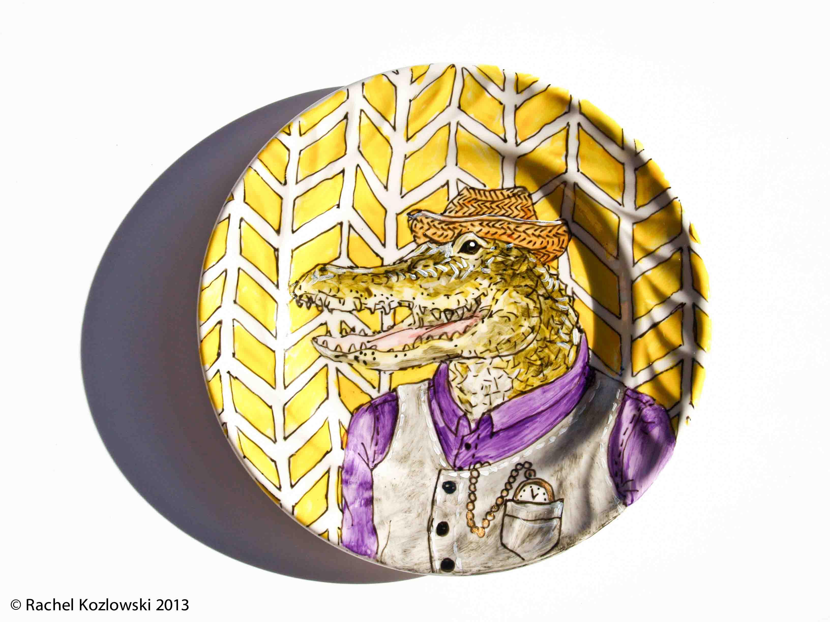 Alligator Plate