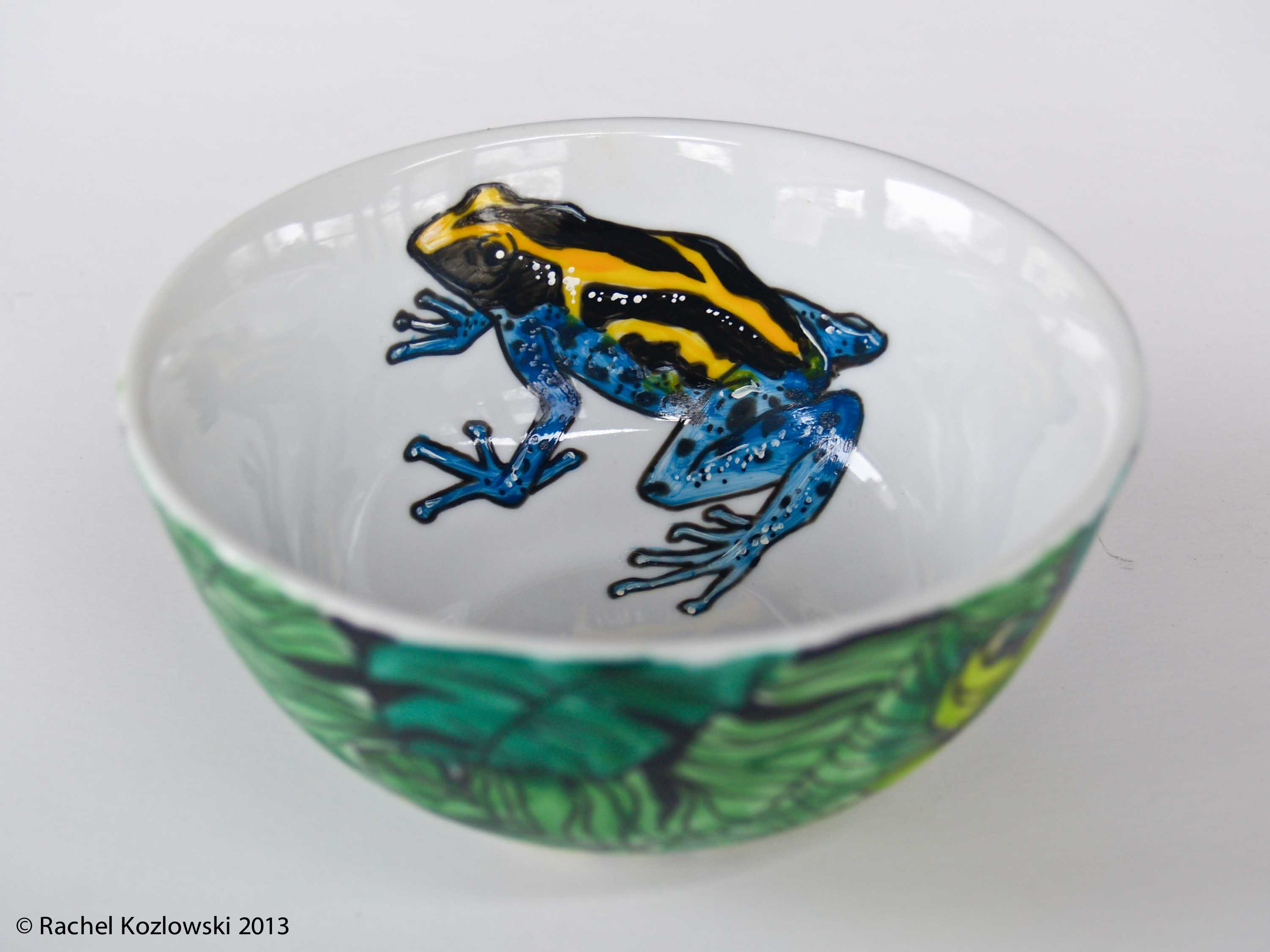 Dart Frog Bowl