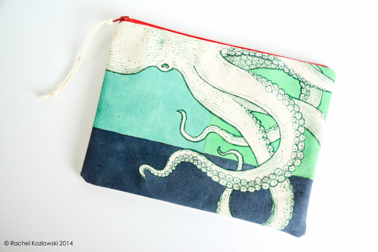 Hand Painted Clutches - Octopus