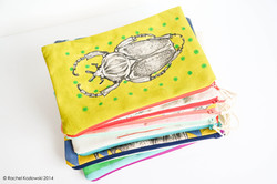 Hand Painted Clutches