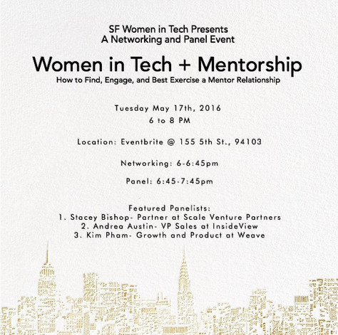 In case you missed out on SF WIT + Mentorship