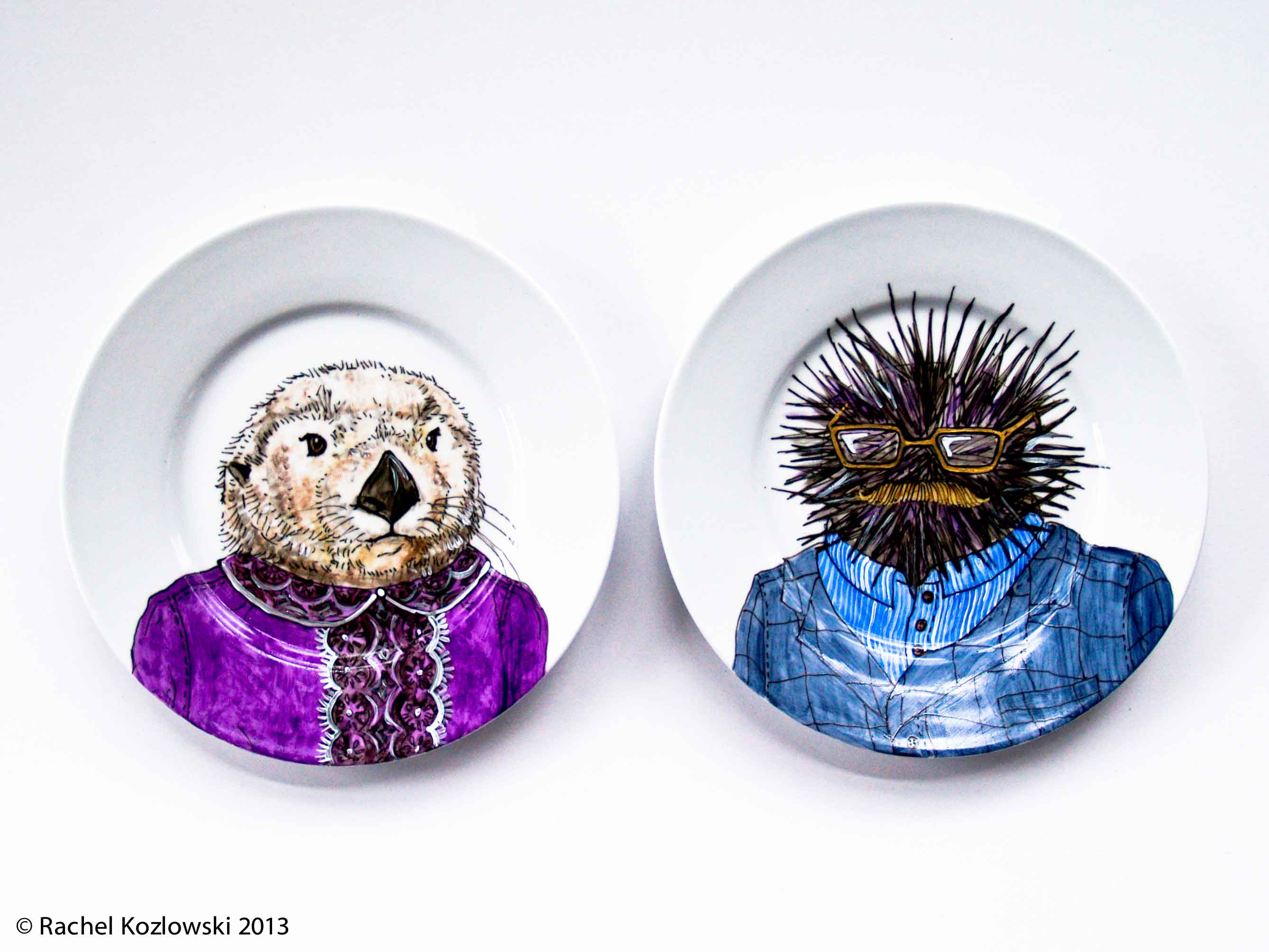 Opposites Attract: Otter and Urchin