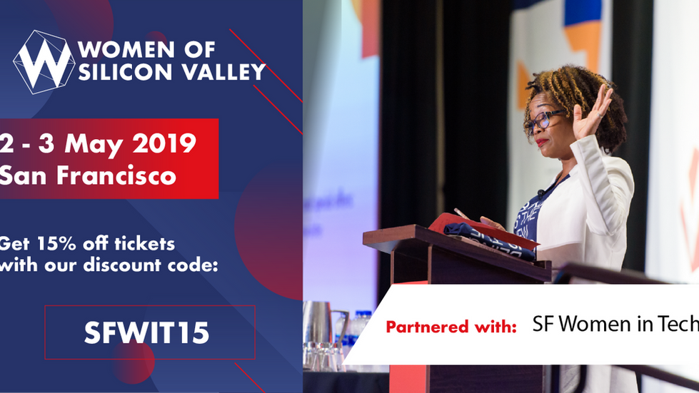[Conference] Women of Silicon Valley May 2-3, 2019