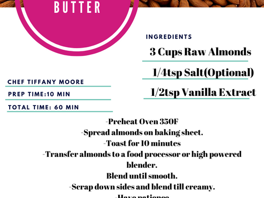 Recipe: Almond Butter