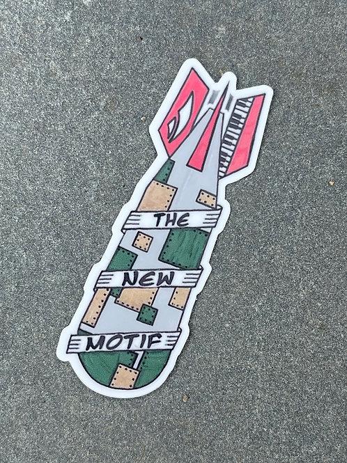 OG Funk Bomb Sticker