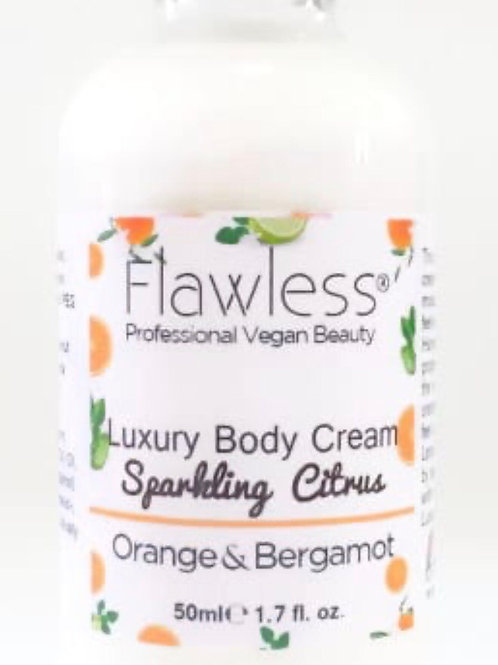 Luxury Body Cream  Sparkling Citrus