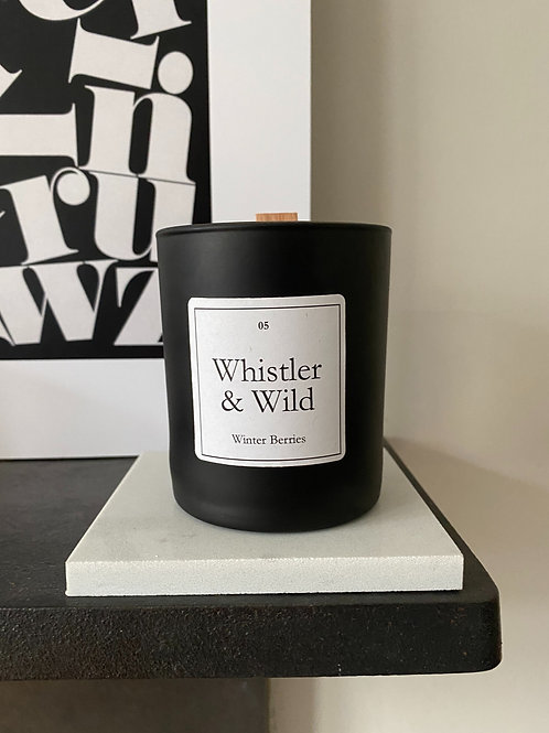 Whistler & Wild Winter Berries Candle