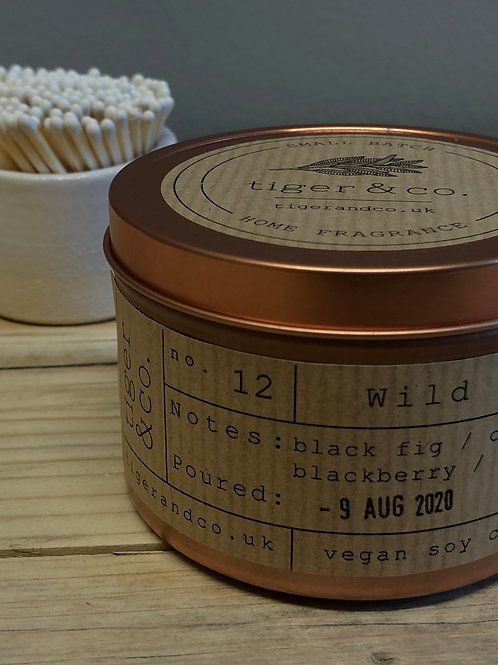 Tiger & Co Wild Fig Tin Candle