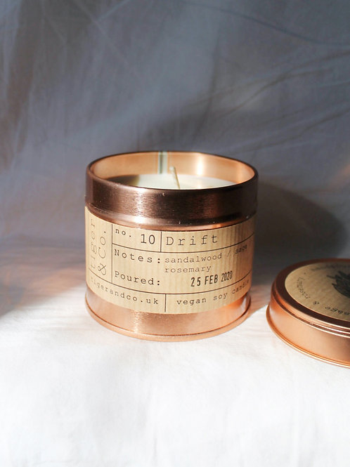 Drift Tin Candle