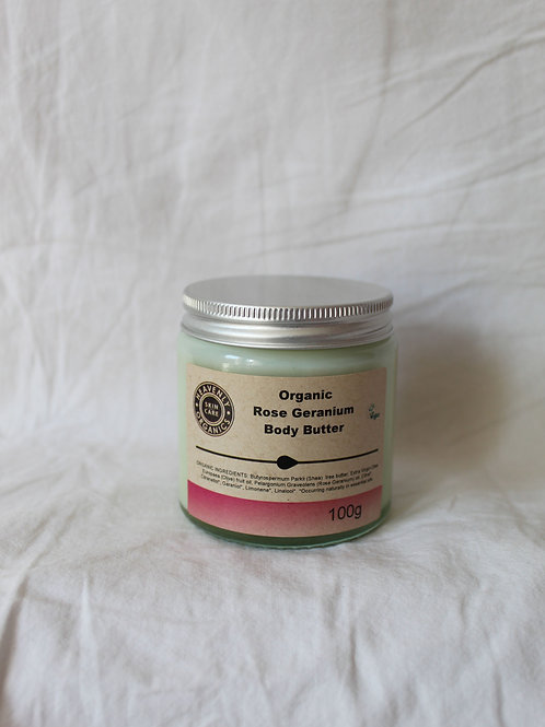 Organic Rose Geranium Body Butter
