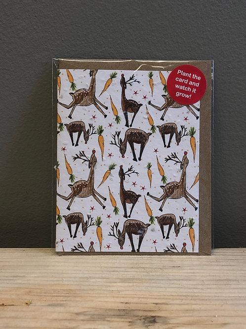 Plant The Card Christmas Card