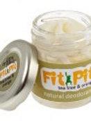 Fit Pit TreeTree and Orange Organic Natural Deodorant