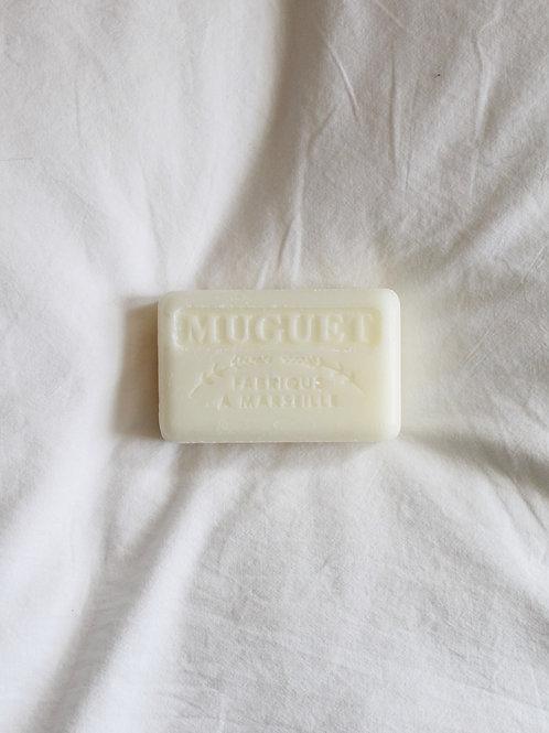 White Lily Soap Bar