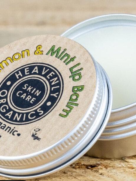 Organic Lemon & Lime Lip balm