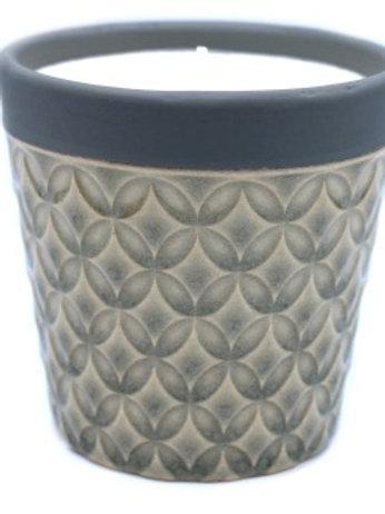 Vintage Garden Candle Pot