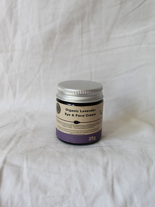 Organic Lavender Eye & Face Cream
