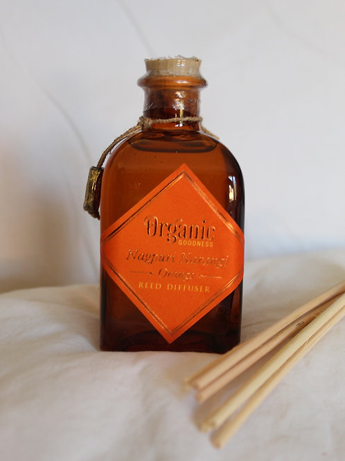 Organic Goodness Orange Reed Diffuser