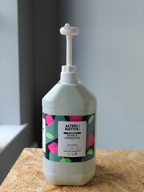 Refill Rose & Geranium Shampoo