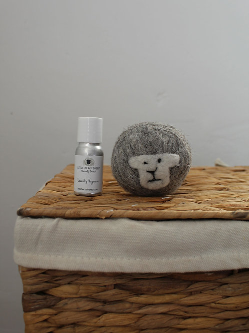 Sheep Laundry Ball with Fragrance Oil
