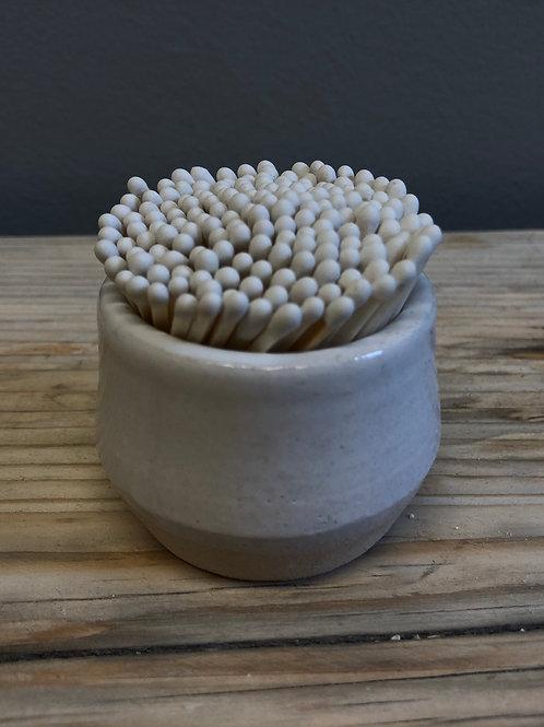 Handmade Match Strike Pots