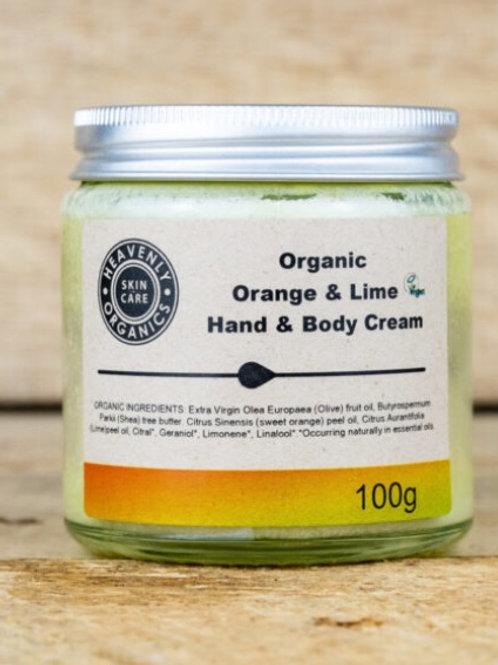 Organic Orange And Lime Hand & body Cream