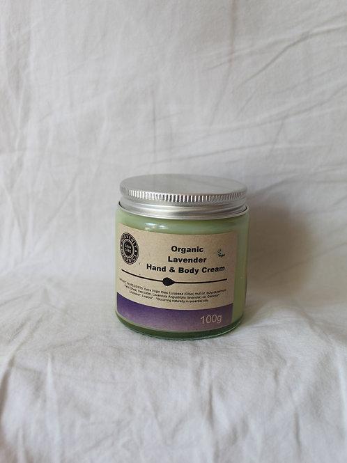 Organic Lavender Hand & Body Cream