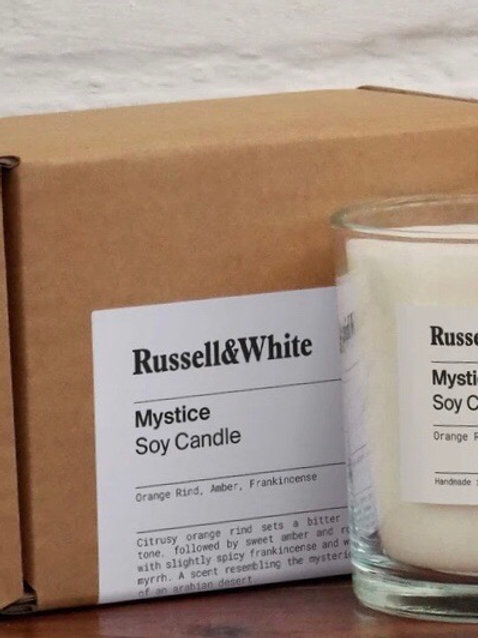 Russell&White Candle Mystice