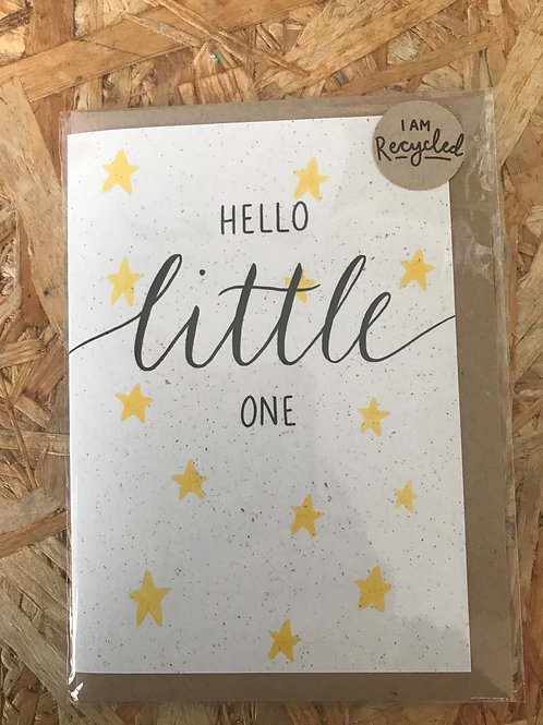 Recycled Greeting Card